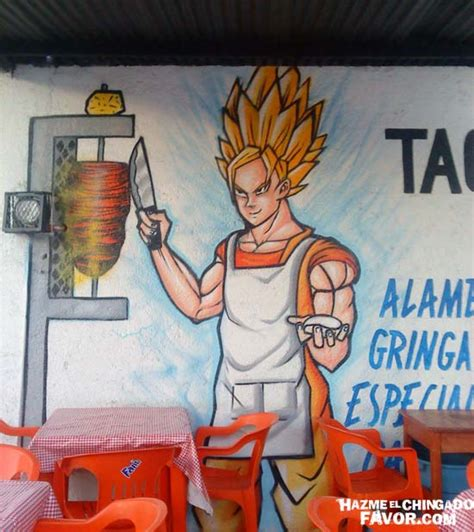Imagenes De Goku Mamonas | tacos super saiyajin