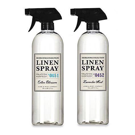 Bibit Parfum Laundry New Towel heirloom collection 32 oz linen spray bed bath beyond