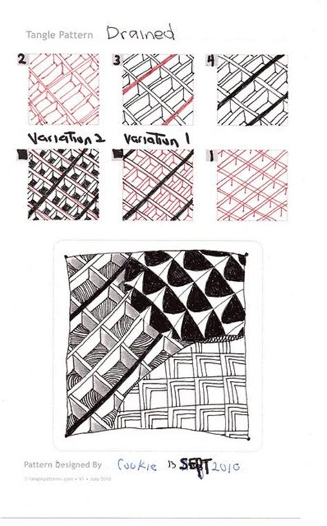zentangle pattern cubine 38 best tangle cubine images on pinterest zentangle