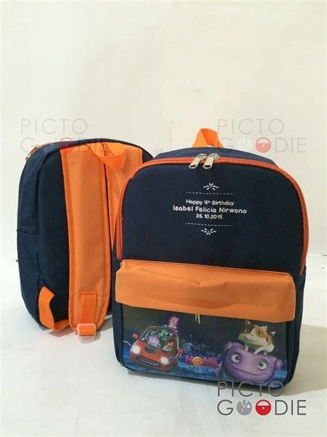 Tas Ransel Sd Gambar Printing Souvenir Free Desain Gambar Plus Photo tas ransel ukuran besar souvenir ultah anak