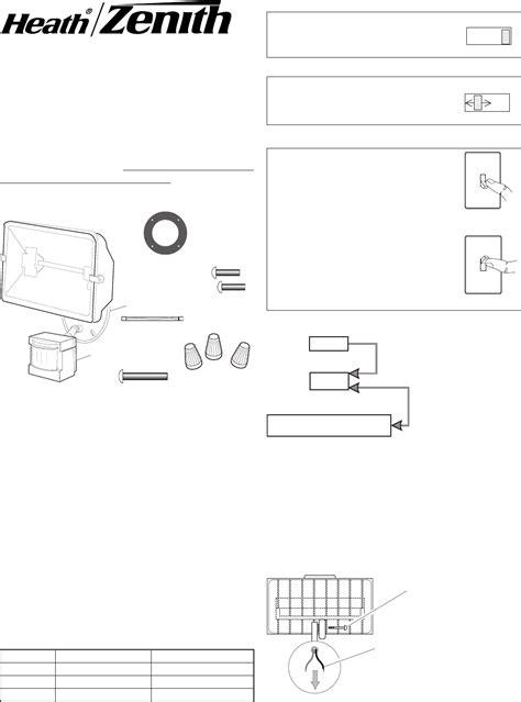 zenith motion sensor light wiring diagram wiring diagram