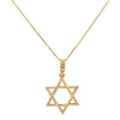 gold of david necklace ebay