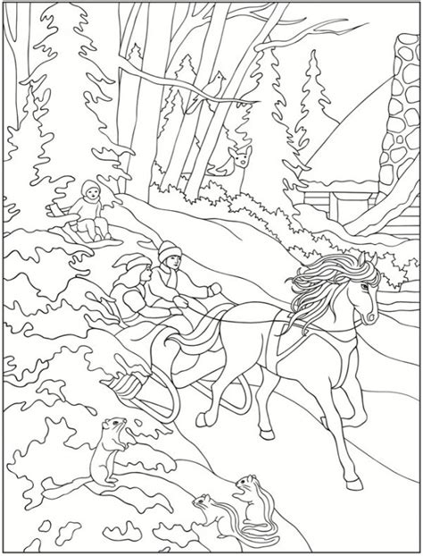 winter coloring pages for adults free coloring pages of winter
