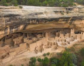 Mesa Verde Cliff Dwellings Of A Mysterious In The Four Corners