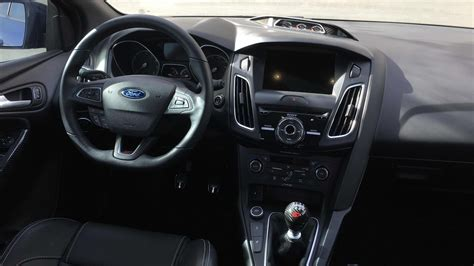 ford focus st st indepth interior review youtube