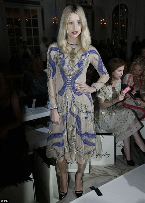 Designer Of The Moment Temperley by Fashion Week Pixie Lott Vs It Up In A Sheer