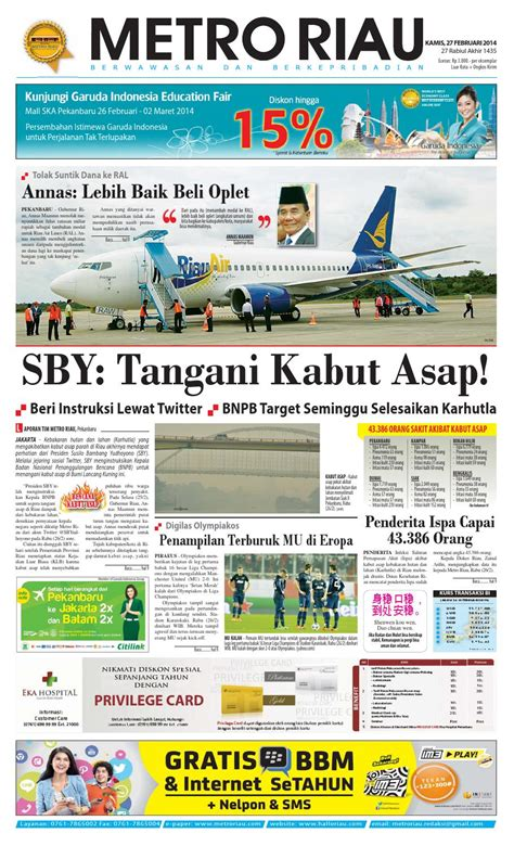 bca riau 270214 by harian pagi metro riau issuu