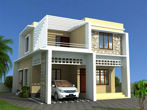 contemporary house plans low cost house plans kerala model home plans