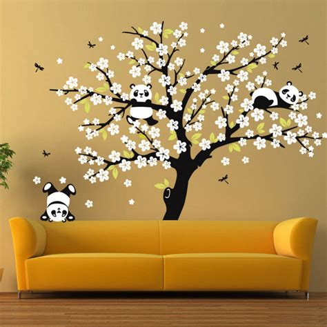 home wall decor stickers white cherry blossom tree wall stickers nursery