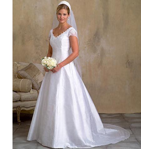 wedding dress pattern uk vogue pattern v2788 misses misses petite wedding dress