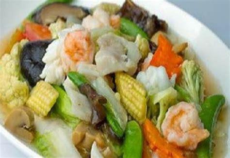 Cara Membuat Capcay Kuah Bening   resep cara membuat capcay sayur kuah resep masakan lengkap