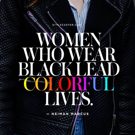 quotes for black colour the best fashion quotes on the color black stylecaster
