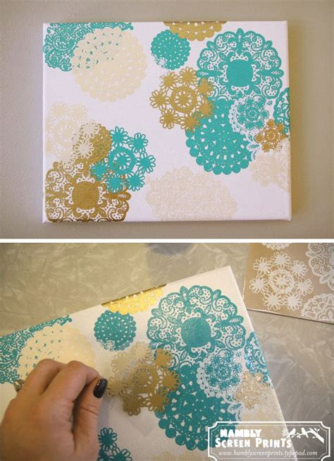 diy canvas crafts creative for all ages with easy diy wall projects