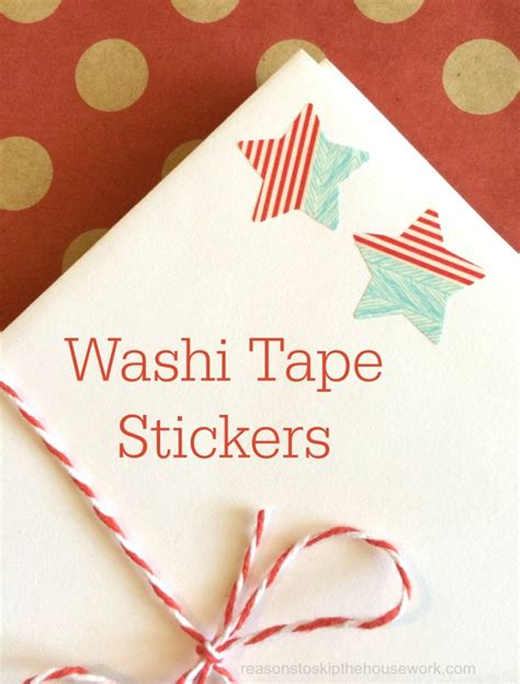 what do you do with washi tape make washi tape stickers 187 dollar store crafts