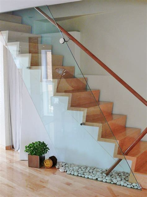 Glass Banisters For Stairs by 1000 Ideas About Glass Stairs On Glass Houses