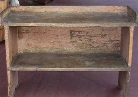 antique bucket bench bucket bench