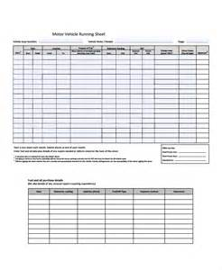 running template run sheet template 6 free word excel pdf document