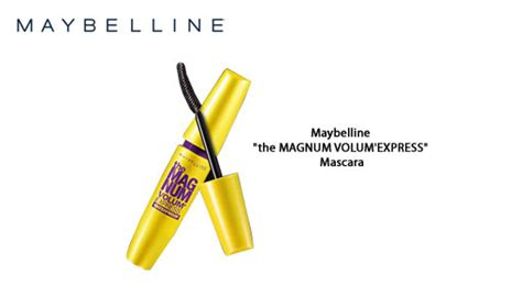 Mascara Magnum Maybeline Volume Kuning Mascara Maybelline Magnum Aybela Toko