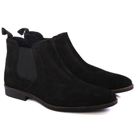 unze mens stockwood suede desert boots uk size 7 11 black