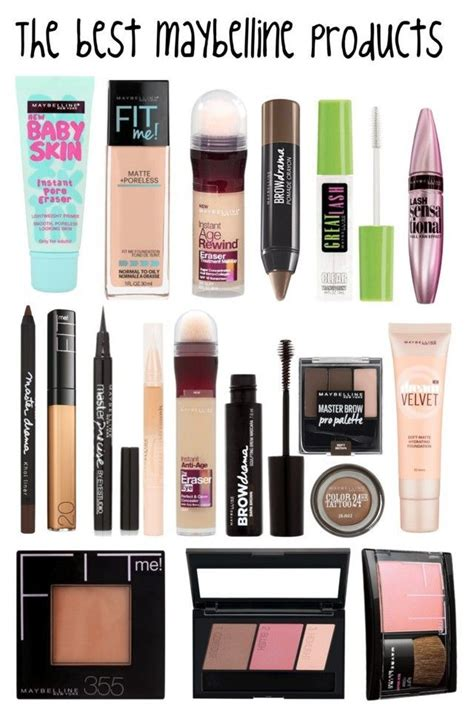 Kosmetik Maybelline quot the best maybelline products quot by sabrinagirl17 liked on