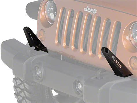 Westin Wrangler 30 In Led Light Bar Front Bumper Mount Front Led Light Bar