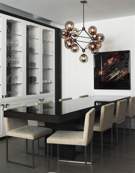 Modern Dining Room Storage by Tribeca Loft