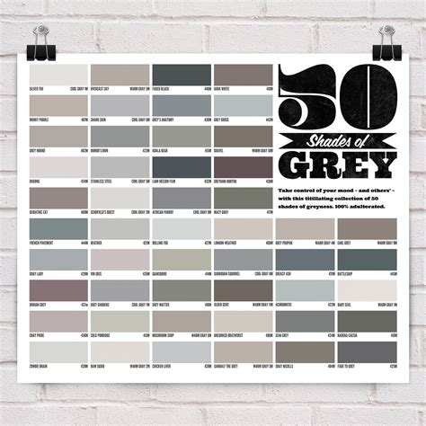 shades of gray colors spencer alley 50 shades of grey
