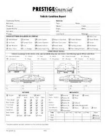 Vehicle Condition Report Template Condition Report Fill Online Printable Fillable Blank