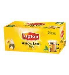 Lipton Yellow Label 100 Sachet buy tea coffee at gomart pakistan