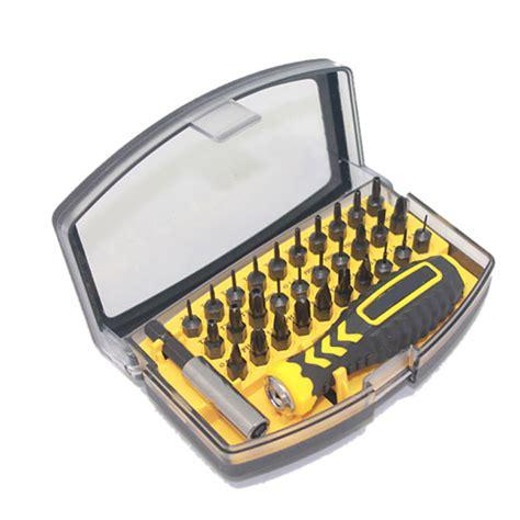 Kit Keselamatan Mobil 7 In 1 32 in 1 screwdriver repair tool kit set for mobile phone