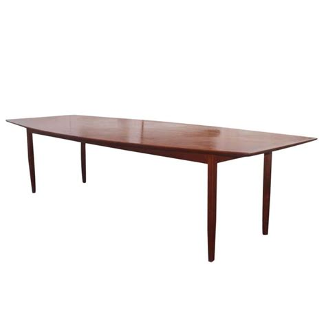 Knoll Conference Table Large Florence Knoll Walnut Dining Conference Table At 1stdibs