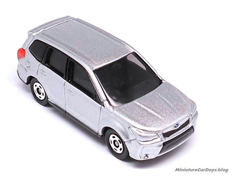 Tomica Reguler No112 Subaru Forester Silver Miniaturecardays トミカ スバル フォレスター