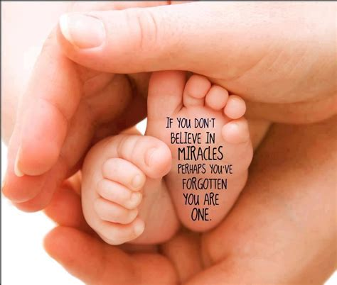 Miracle Babies 30 New Baby Born Quotes Congratulate