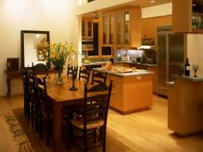 Dining Room With Kitchen Designs by Kitchen And Dining Rooms Kitchen Design Photos
