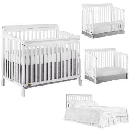 Walmart Baby Cribs In Store Walmart Cribs 4 In 1 Graco Freeport 4in1 Fixedside Convertible Crib Classic Cherry Walmart