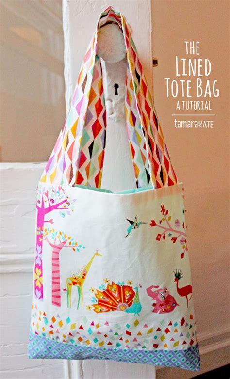 tutorial tote bag with lining kayajoy 187 tutorials