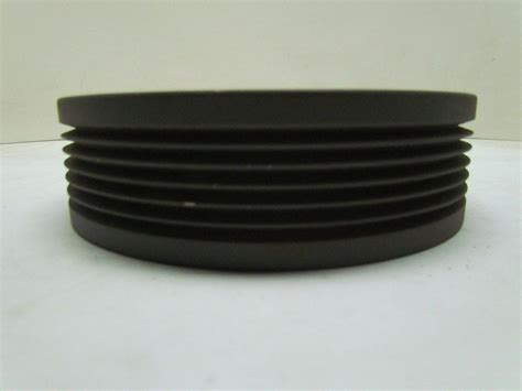 browning 6l62p 6 groove poly v l belt sheave pulley split