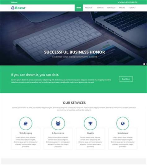 Free Simple Website Templates And Bootstrap Themes Webthemez Free Html Templates