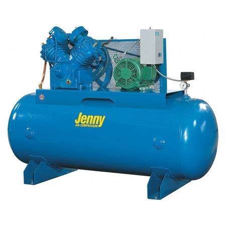 air compressor horizontal tank 7 1 2 hp u75b 80 230 1 zoro