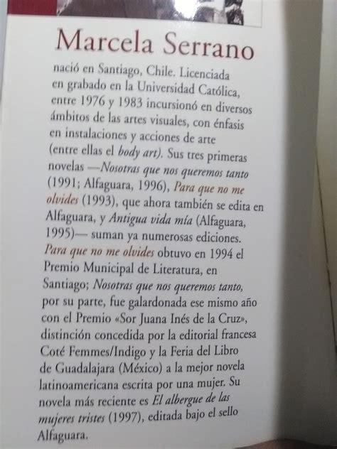 libro no and me by libro marcela serrano para que no me olvides alfaguara 139 00 en mercado libre