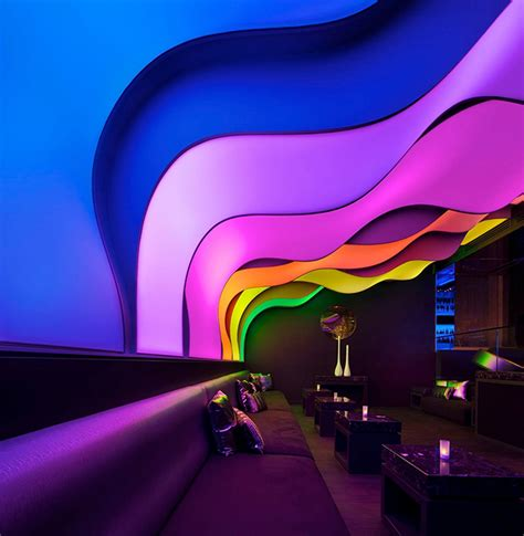 wall lounge at the w hotel this is beirut wunderbar lounge montreal6 fubiz media