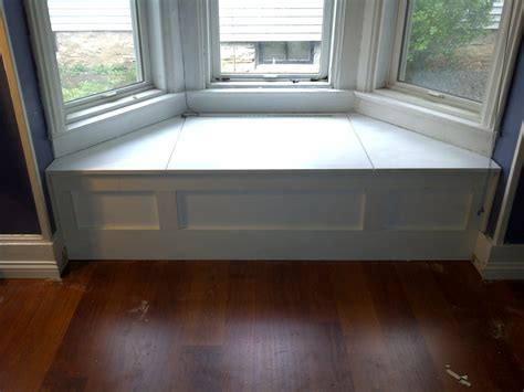 bench window seat how to make a bay window bench seat
