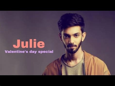 anirudh valentines day song julie song anirudh s day tamil album