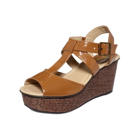 me sandals kenneth cole reaction wind me up wedge sandals in brown