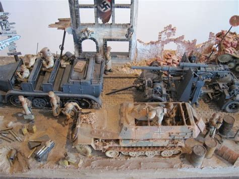 Set 4in1 2 Model metro modern world war ii set model of german battle