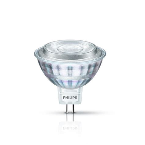 Lu Led Philips 3 philips 50 watt equivalent mr16 dimmable led light bulb glass 470278 the home depot