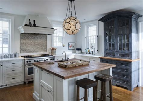 Blue Backsplash Kitchen by Why White Kitchen Cabinets Are The Right Choice The