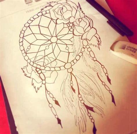 tattoo edit dreamcatcher dream catcher tattoo sketch tattoos pinterest