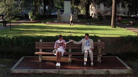 forrest gump park bench location famous movie scene locations as seen through google street