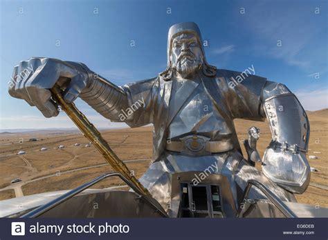 Mongol Steel steel statue of genghis khan 2 genghis khan